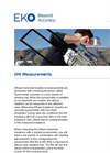 Instruments and analyzers for DHI measurements - Brochure