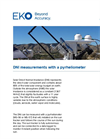 Instruments and analyzers for DNI measurements with a pyrheliometer - Brochure