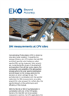 Instruments and analyzers for DNI measurements at CPV sites - Brochure