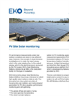Instruments and analyzers for PV site solar monitoring - Brochure