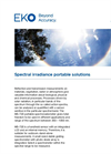 Instruments and analyzers for spectral irradiance portable solutions - Brochure
