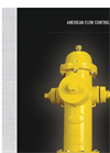 Fire Hydrants - 5 1/4` American-Darling B-84-B-5 Brochure