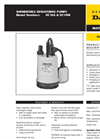 Clean and Grey Water Drainage Pump Brochure