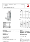 Grindex - (5.8 kW - 3 or 4) - Sandy Inox Electrical Submersible Sludge Pump Data Sheet