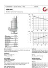 Grindex - (6.3 kW - 3 or 4) - Sandy Inox Electrical Submersible Sludge Pump Data Sheet