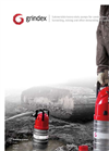 Grindex - (8.8 kW - 3) - Master SH Electrical Submersible Drainage Pump Brochure