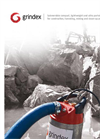 Grindex - (0.75 kW - 2) - Mini Electrical Submersible Drainage Pump Brochure