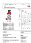 Grindex - (6.6 kW - 3) - Sandy Electrical Submersible Sludge Pump Data Sheet