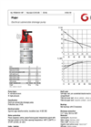 Grindex - (5.6 kW - N : 4 - H : 3) - Major Electrical Submersible Drainage Pump Data Sheet