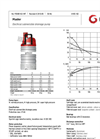 Grindex - (10 kW - N : 6 - H : 4 - SH : 3) - Master Electrical Submersible Drainage Pump Data Sheet