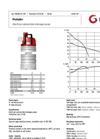 Grindex - (18 kW - N : 6 - H : 4) - Matador Electrical Submersible Drainage Pump Data Sheet