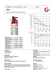 Grindex - (4.4 kW - N : 4 - H : 3) - Minor Electrical Submersible Drainage Pump Data Sheet