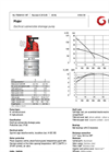 Grindex - (6.6 kW - N : 4 - H : 3) - Major Electrical Submersible Drainage Pump Data Sheet