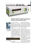 ECO PHYSICS CLD 86 CYp Nitrogen Oxide Analyzer - Brochure