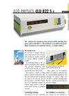 ECO PHYSICS - Model CLD 822 S r - Nitrogen Oxide Analyzer - Brochure