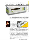 ECO PHYSICS CLD 822 M h Nitrogen Oxide Analyzer - Brochure