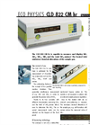 ECO PHYSICS CLD 822 CM hr Nitrogen Oxide Analyzer - Brochure