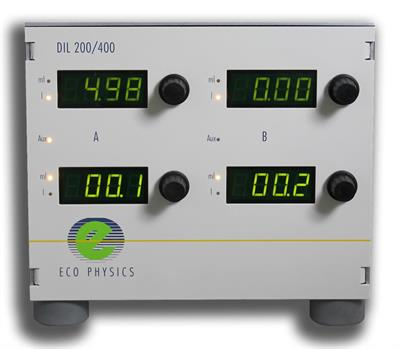ECO PHYSICS - Model DIL 200/400 - High Precision Gas Diluter