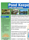 Pond Keeper Beneficial Bacteria - Liquid Data Sheet (PDF 2.58 MB)