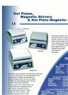 Hot Plates, Magnetic Stirrers & Hot Plate/Magnetic Stirrers - Brochure