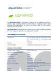 Aquaporin - Model AQP HFFO2 - Hollow Fiber FO Membrane Modules - Datasheet