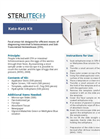 Kato-Katz - Lightweight and Portable Box - Datasheet