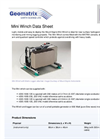 Borehole Mini Winch Datasheet