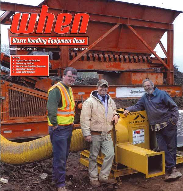 Airlift Separator Featured in WHEN Magazine