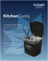 EcoSafe - Kitchen Caddies For Food Waste Container Brochure