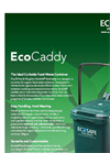 EcoSafe EcoCaddy - For Curbside Food Waste Container Brochure