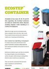 EcoStep - Container Brochure