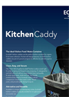 Kitchen Caddy Municipal Zero Waste Bins Brochure