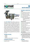 Somat - Model SPC-75S - Waste Reduction System - Datasheet