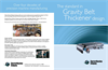 Charter - Gravity Belt Thickeners - Brochure