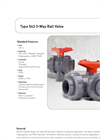 Model 543 - 3-Way Ball Valve Brochure