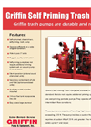 Griffin - Self Priming Trash Pumps Brochure
