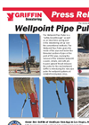 Wellpoint Pipe Puller Press Release