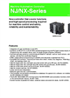 Model NJ/NX Series - Machine Automation Controller - Datasheet