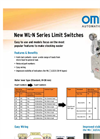 WL-N Series Limit Switches Brochure