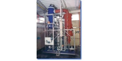 Model ZUVV 140 S - Forced Circulation Evaporator