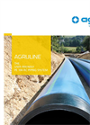 AGRULINE - Model PE 100 - Piping System - Brochure