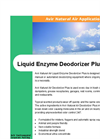 Liquid Enzyme Deodorizer Plus Brochure