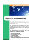 Liquid Enzyme Deodorizer Brochure
