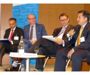 Business leaders debate green economy in Paris