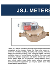 Carlon JSJ Electric Contacting Industrial Meters Brochure