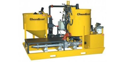 ChemGrout - Model CG-600 Colloidal Series - Heavy Duty, High Volume Colloidal Mixing Grout Plants