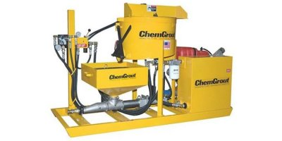 ChemGrout - Model CG-550 Rugged Series - Skid and Trailer Mounted Grout Plants