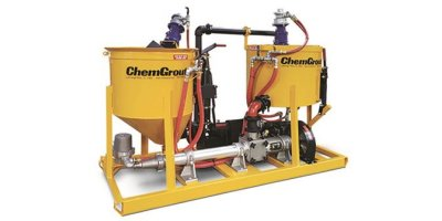 ChemGrout - Model CG-600/8CF Colloidal Series - Compact, Medium Duty, Colloidal Grout Plant