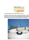 Xtractor Solvent Collection System Brochure