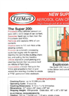 TeeMark - Model Super 200 - Aerosol Can Crusher - Brochure